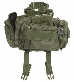 Modularna MOLLE torba za okoli pasu Small olivna  barva