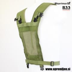 Vojaški nosilni YOKE sistem KARRIMOR SF olivna barva, B33 army shop, trgovina z vojaško opremo, vojaška trgovina