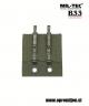 ALICE vojaški kovinski medsebojni drsniki (vojaška specifikacija MIL-H-9890), priznanega nemškega proizvajalca MILTEC by Sturm so namenjeni za pritrjevanje opreme na vojaški opasač (vojaška specifikacija MIL-B-43826). Z Alice vojaškimi kovinskimi medseboj