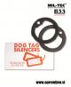 B33 army shop - US glušilna gumica za vojaško identifikacijsko ploščico (dog tag) MILTEC, MIL-TEC opremite se na www.opremljen.si (trgovina z vojaško opremo, vojaška trgovina)