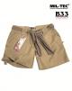 vojaške ženske kratke hlače ripstop prewash, barva KHAKI, by B33 army shop at www.opremljen.si