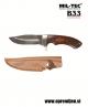 B33 army shop - lovski nož s pakka ročajem MILTEC opremite se na www.opremljen.si (trgovina z vojaško opremo, trgovina z lovsko opremo, trgovina s security opremo)