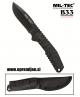 Vsestranski zelo oster nož S440/G10 MILTEC by B33 army shop at www.opremljen.si
