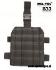 Vojaška MOLLE nožna platforma za taktične torbice in drugo opremo črne barve MILTEC by B33 army shop at www.opremljen.si (vojaška trgovina, trgovina z vojaško opremo)