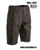 US vojaške bermuda hlače ripstop ACU (Army Combat Uniform) črna barva