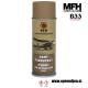 Vojaška barva sprej WH (Wehrmacht) temno zlato rumena mat MFH - Max Fuchs by B33 army shop at www.opremljen.si