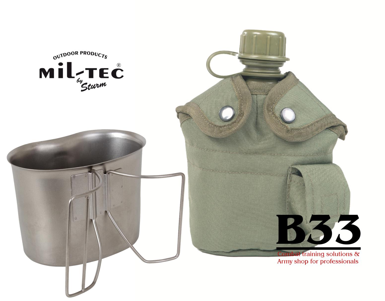 B33 army shop čutara za vodo z aluminijasto posodo za prekuhavanje
