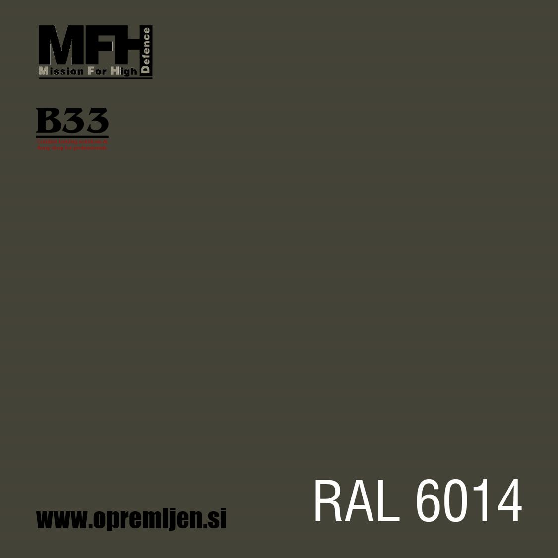 Vojaška barva sprej olivna OLIV DRAB RAL6014 400ml MFH - Max Fuchs by B33 army shop at www.opremljen.s