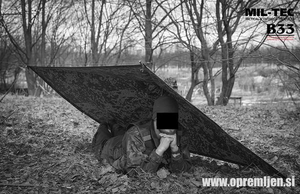 B33 army shop - vojaški dežni pončo (poncho) at www.opremljen.si